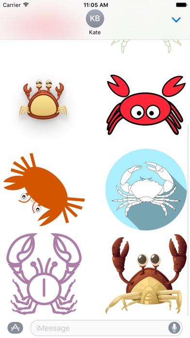 Crab StickersСкриншоты 2