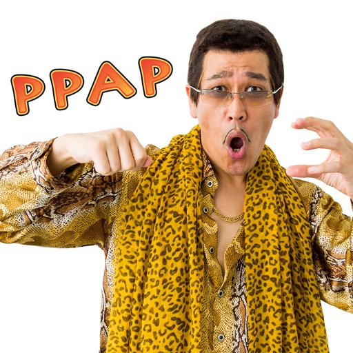 PPAP-Pen Pineapple Apple Pen-ステッカー by.ピコ太郎