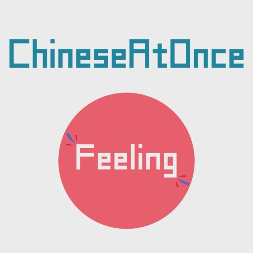 Speaking Chinese At Once:Feeling(45 Chinese words) iOS App