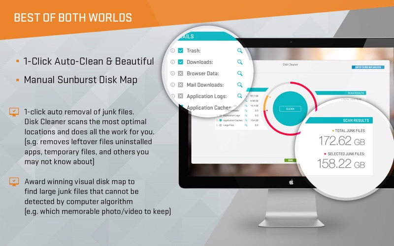 Disk Map Analyzer - 2 in 1 - Clean Your Hard Drive Screenshots
