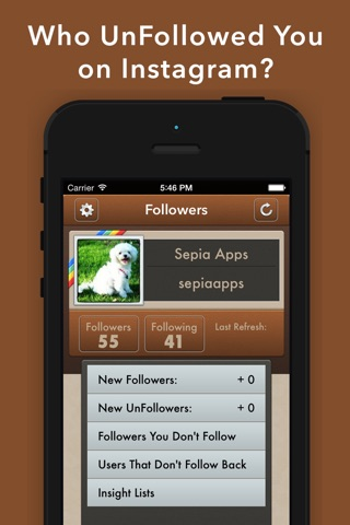 UnFollowers on Instagram Pro -IG Followers Tracker screenshot 1
