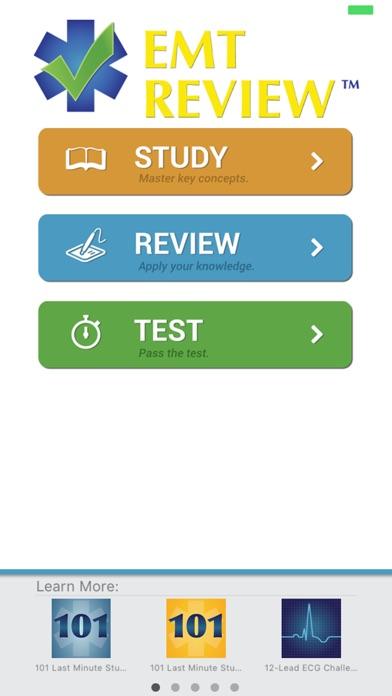 EMT Review Plus Screenshot