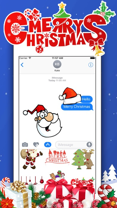 Christmas Collection for iMessageСкриншоты 1
