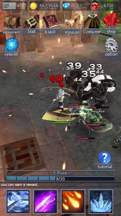 DarkWarrior Screenshot