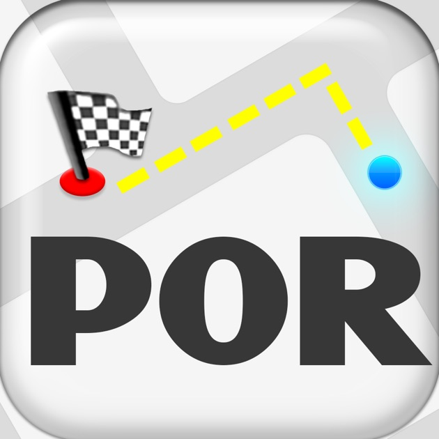 Portugal Map On The App Store - Portugal map icon