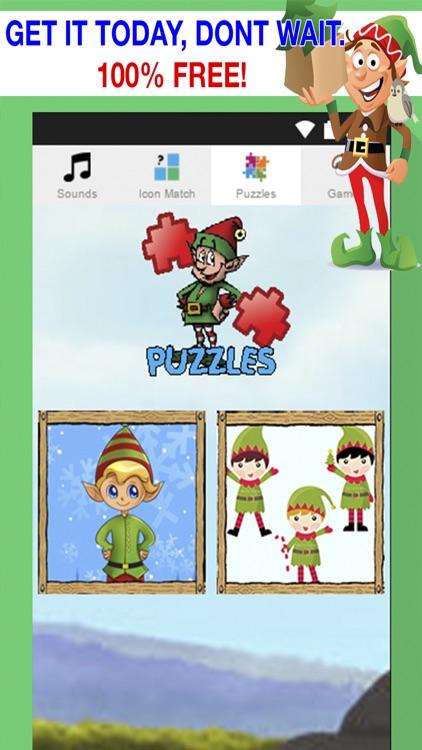 christmas elf games for little kids jingle puzzles santa match games and more - Christmas Elf Games