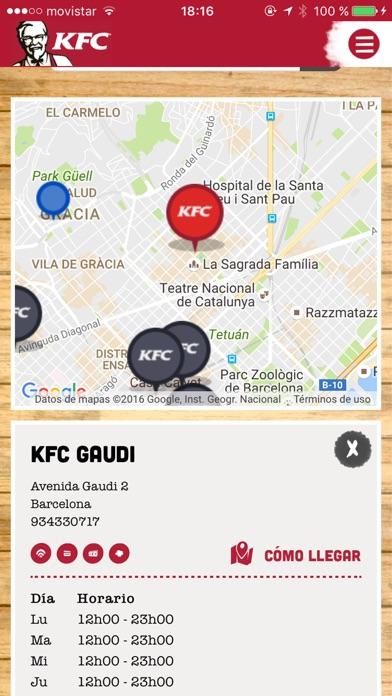 download KFC España - ofertas cerca de ti apps 3