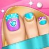 美甲遊戲:公主沙龍時尚美甲設計和修腳