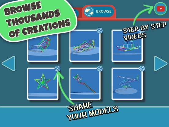 DRAW 3D JUNIOR :LEARN GEOMETRY & CREATE 3D MODELS Screenshot