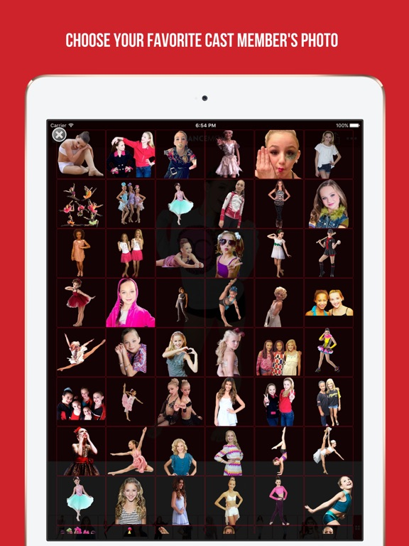 Screenshots of Add your photo with your favorite cast member - Dance Moms edition for iPad