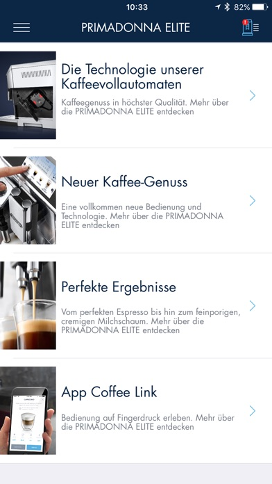 de 39 longhi coffee link im app store. Black Bedroom Furniture Sets. Home Design Ideas