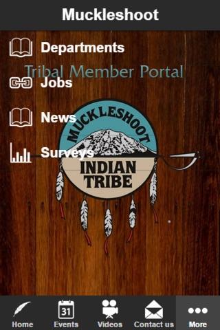 Muckleshoot Indian Tribe screenshot 1