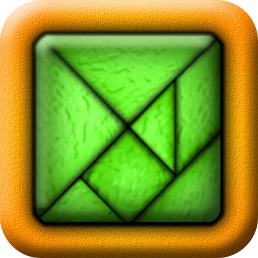 TanZen HD Free - Relaxing tangram puzzles iOS App