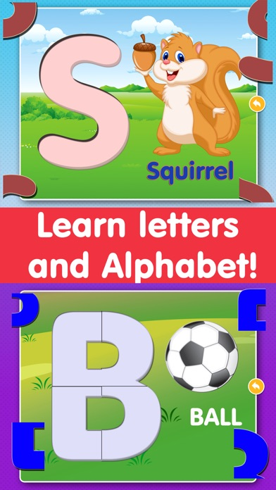 Little Children's Educational Swanky Alphabet Puzzle Game Screenshot
