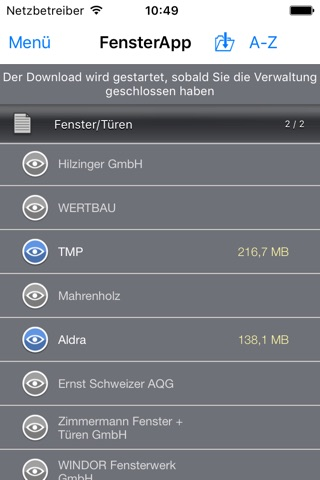 FensterApp - FeMoSo screenshot 2