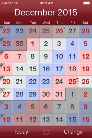 Workdays screenshot 2