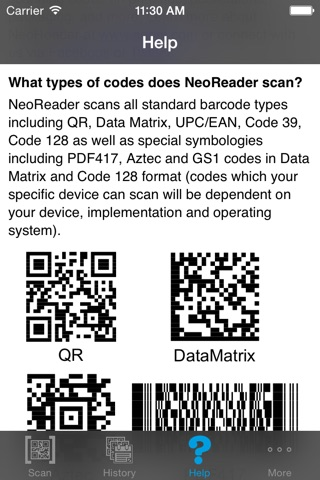 NeoReader®-QR&BarcodeScanner screenshot 4