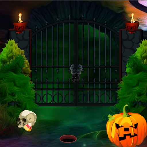 Creepy Halloween Graveyard Escape iOS App