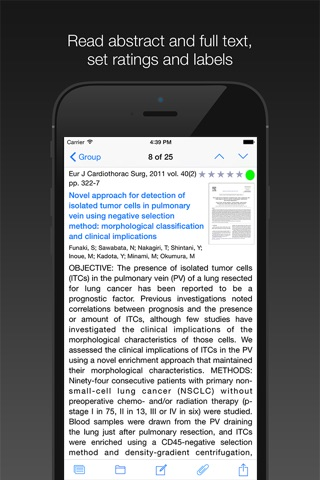 PubMed On Tap screenshot 3