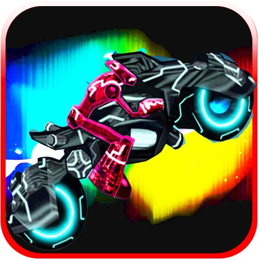 Neon Bike Race Training Pro iOS App