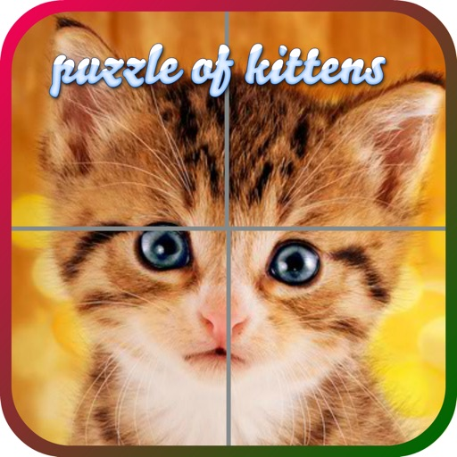 Puzzles of Kittens iOS App
