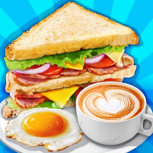 Breakfast Sandwich Food Maker - Baby Meal Party Icon