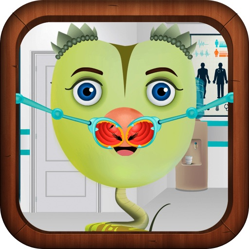Nose Doctor Game for Kids Version iOS App