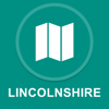 Lincolnshire, UK : Offline GPS Navigation App