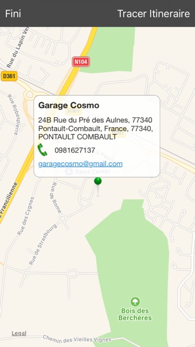 App shopper garage cosmo utilities for Garage cosmo pontault combault