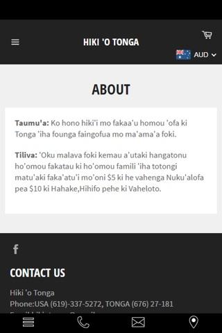 Hiki o Tonga screenshot 2