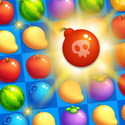 Fruits Crush Legend Delicious Sweetest Match 3 iOS App