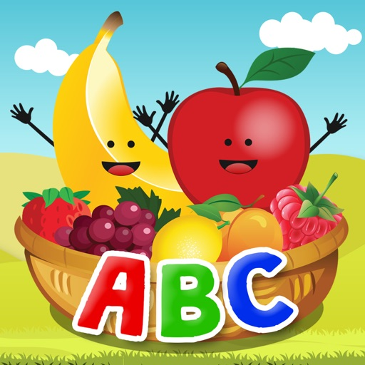 English Learning Game For Kids - ABC Fruit Market iOS App