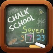 Chalk School: Words as Numbers