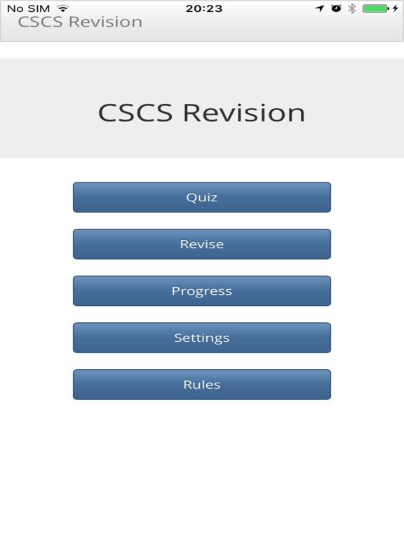 CSCS Revision for Windows 10 free download on 10 App Store