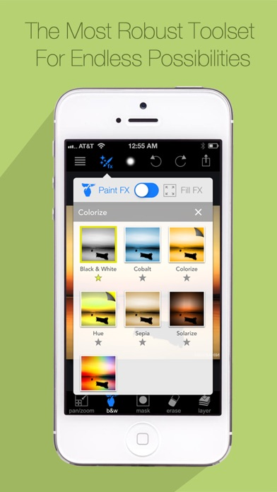 Screenshot #7 for Paint FX : Photo Effects Editor