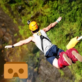 VR Bungee Jump with Google Cardboard - VR Apps for iPhone