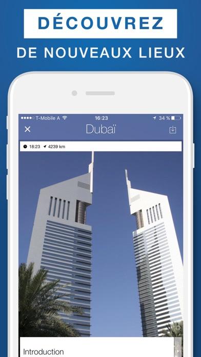 Dubaï – guide de voyage & carte offlineCapture d'écran de 1