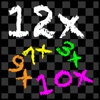 TimesX Multiplication Times Tables Trainer/Tester