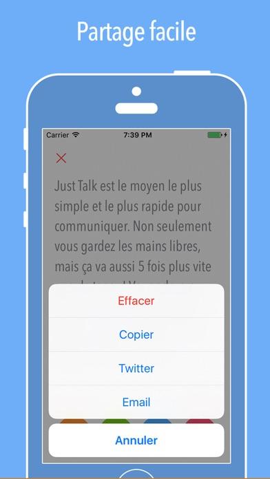 Screenshot #3 pour Just Talk ~ Parole-texte