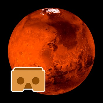 Virtual Reality Mars for Google Cardboard VR for iPhone