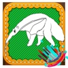 Coloring Book Anteater For Toddler