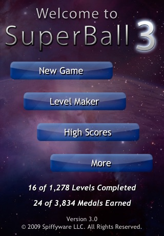 SuperBall 3 screenshot 4