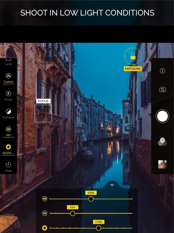 Warmlight - Manual Camera Screenshots
