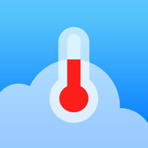 温度计 – 天气部件