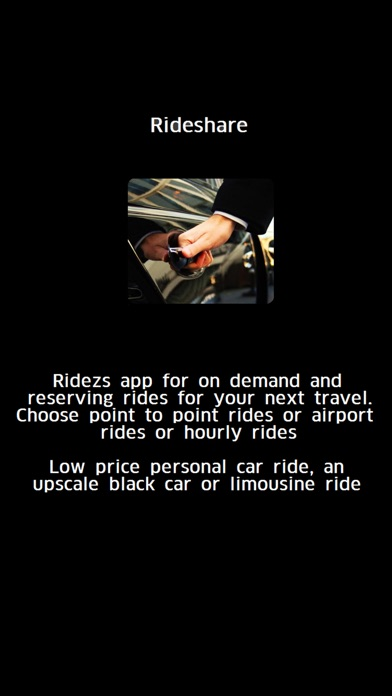 Ridezs carpool rideshare food furniture app on the Furniture apps for iphone
