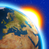 Tempo Agora ° temperatura alertas, Earth 3D widget