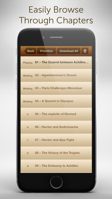 Free Audiobooks - 4,728 classic audiobooks for less than a cup of coffee. Screenshot 5