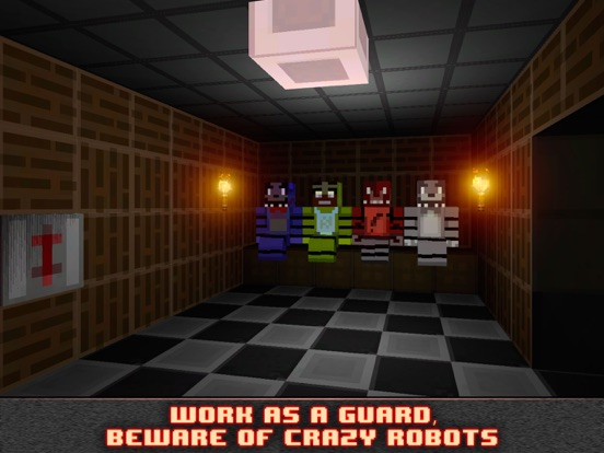 Nights at Cube Pizzeria 3D-ipad-1