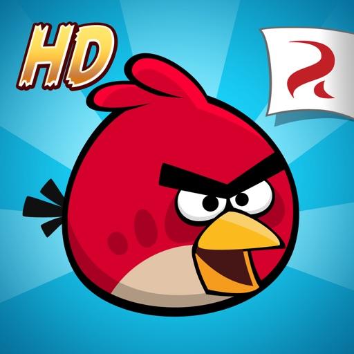 愤怒的小鸟高清版:Angry Birds HD