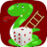 Flashy Snake And Ladders Game Two Player Classic